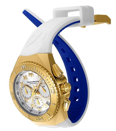 Technomarine TM-215080 Unisex Ocean Manta Collection 40mm Gold Dial Watch - techno305