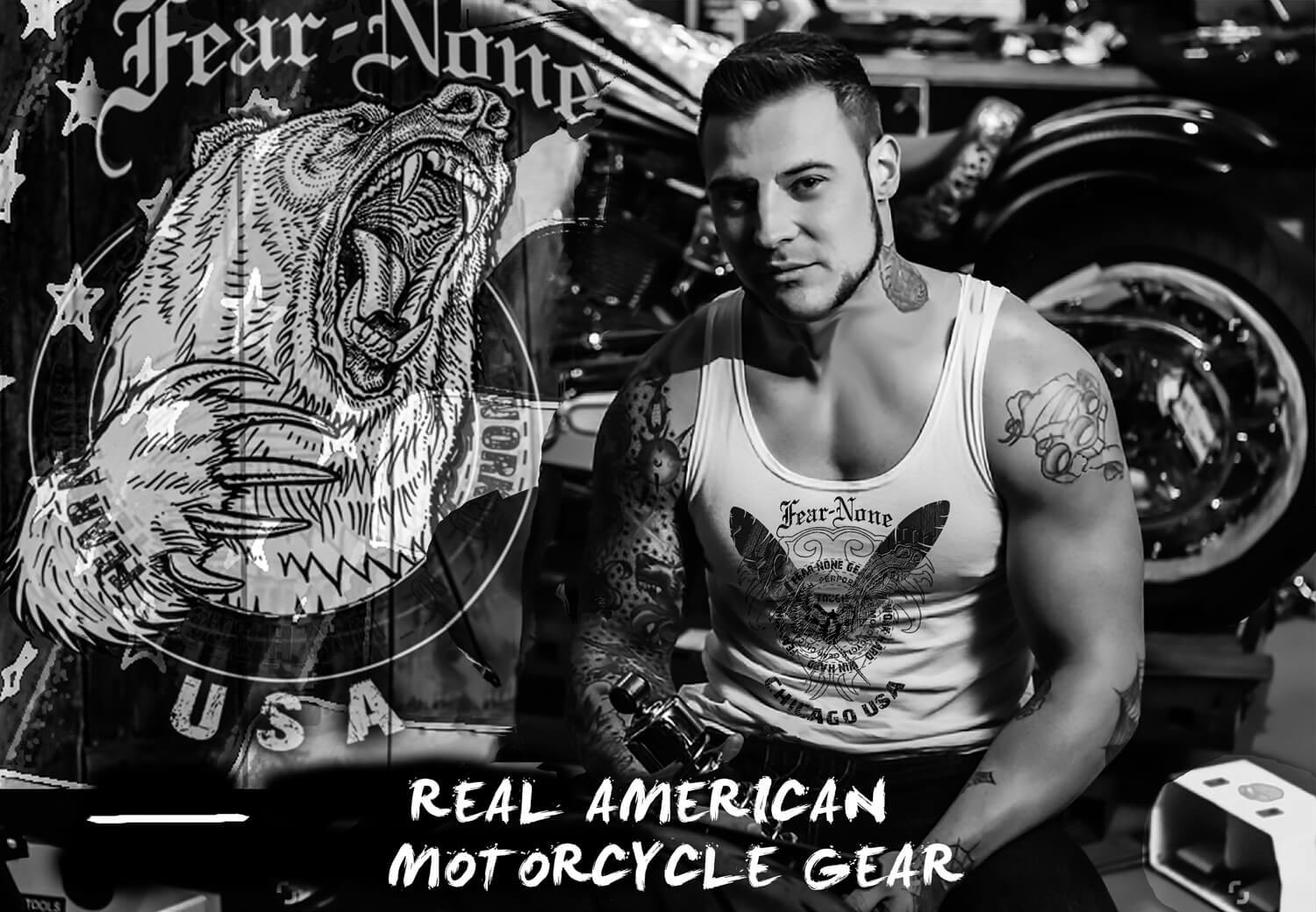 fear none motorcycle gear