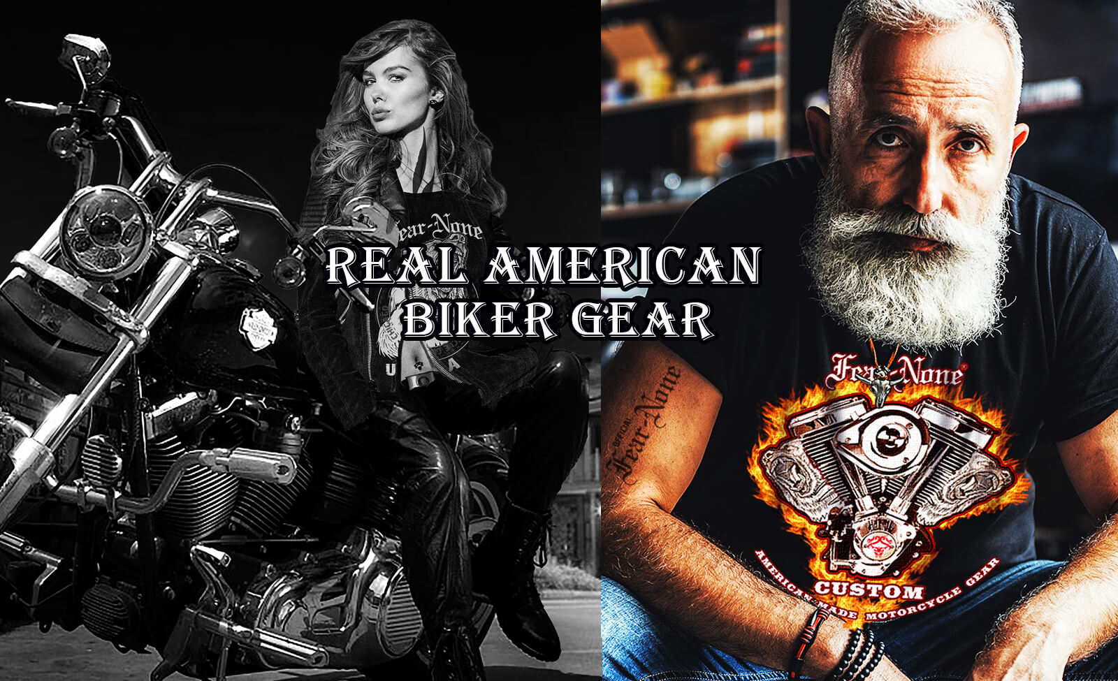 FEAR-NONE Motorcycle Gear