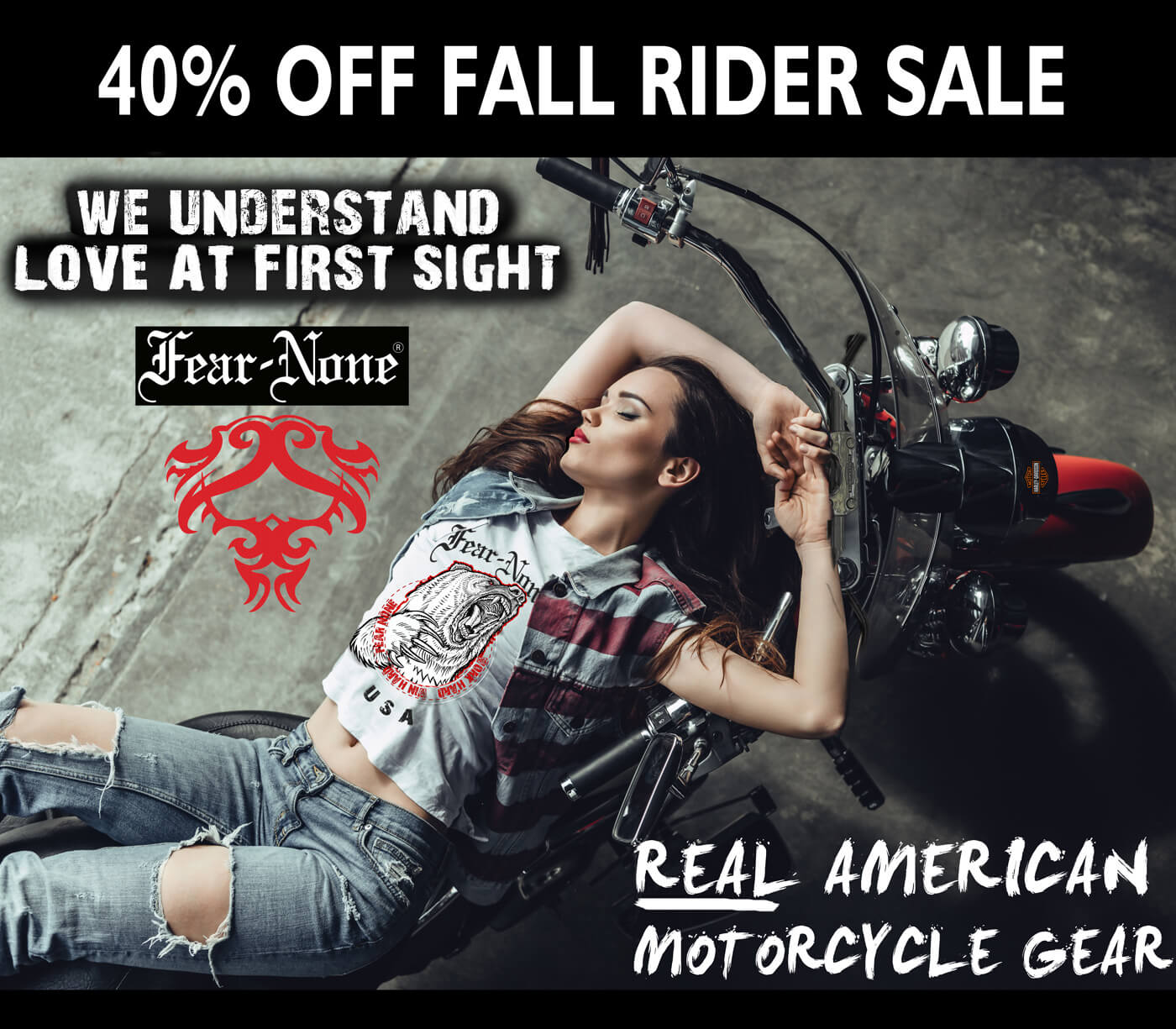 FEAR NONE GEAR MOTORCYCLE CLOTHING
