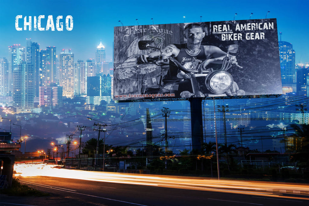 FEAR-NONE Motorcycle Gear Chicago Campaigns
