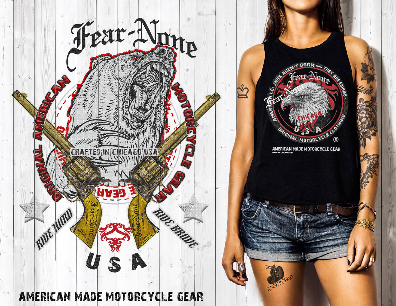 fear-none biker and motorcycle gear and clothing