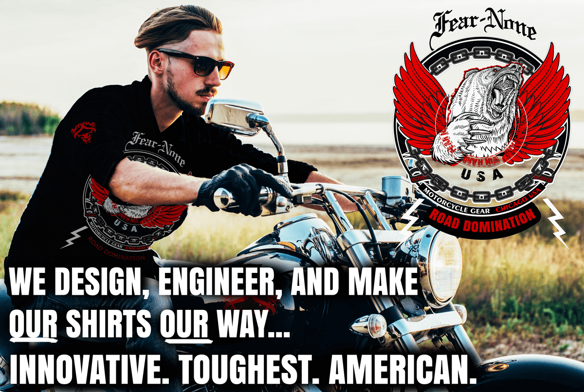 FEAR NONE Gear Motorcycle & Biker Clothing