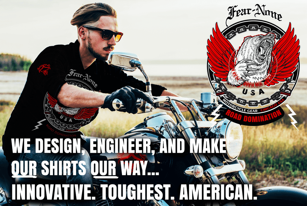 FEAR NONE MOTORCYCLE GEAR Contact