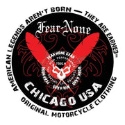 FEAR-NONE Fierce Rider Decal Sticker
