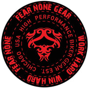 FEAR-NONE Road Warrior Decal Sticker
