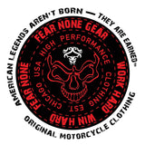 FEAR-NONE Skull Warrior Decal Sticker