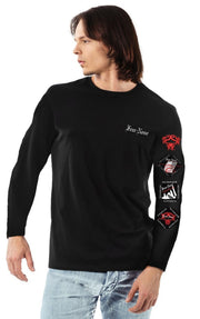 4 Badge Touring Shirt Long Sleeve
