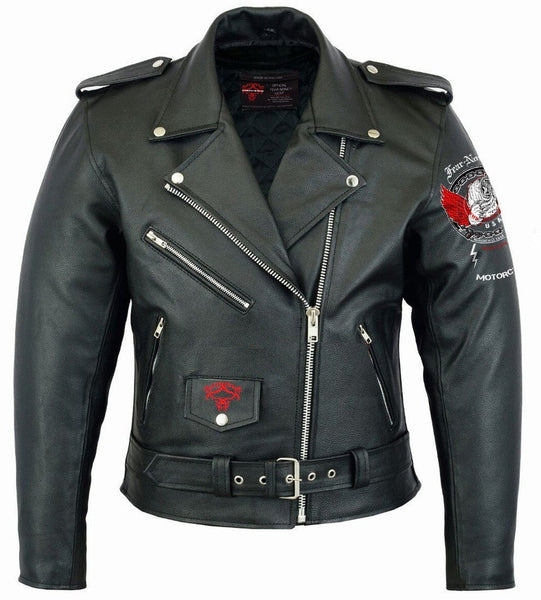 The Dominator  Rider Leather Highway Jacket
