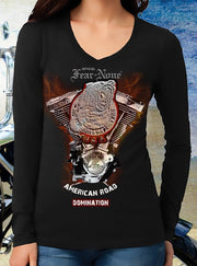 Womens Steel Bear Engine Rider (Long Sleeve)