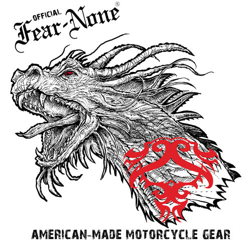 "Official FEAR-NONE ""Old School Dragon Head"" Rider Chrono"