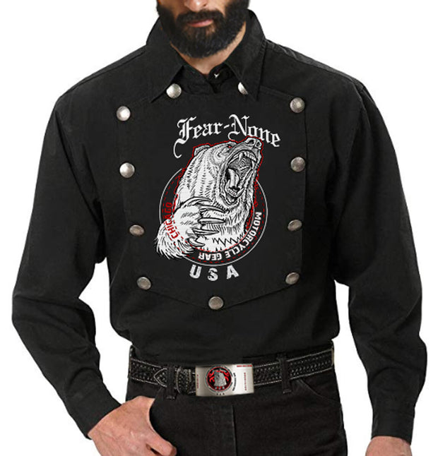 "Men's American ""Iron Cowboy"" Rider shirt"