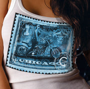 Ladies Blue Stamp Tank(TM)
