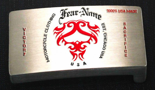 Official FEAR-NONE GEAR Mark Buckle