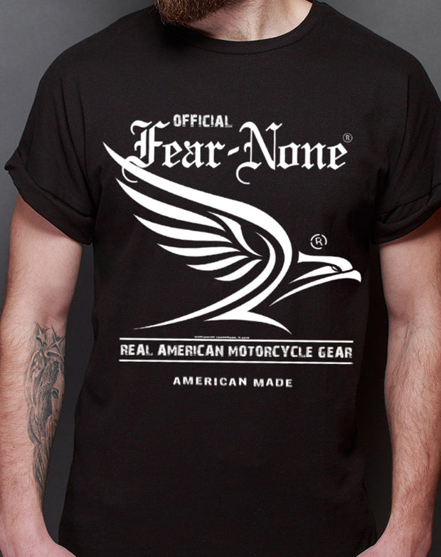 "Men's ""White Flowing Eagle"" Rider Shirt"