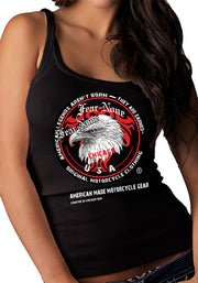 Women's Eagle Head Coin Rider Tank