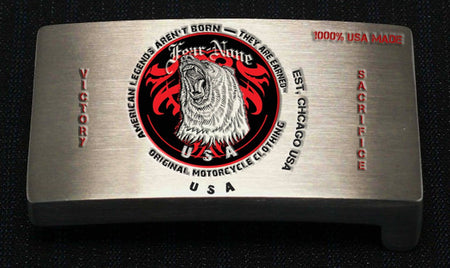 Official FEAR-NONE Skull Rider Buckle