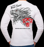 Men's Old School Dragon Back