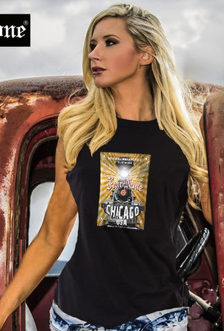 Womens Gold Train Rider