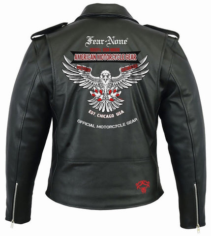 American Eagle Rider Leather Highway Jacket