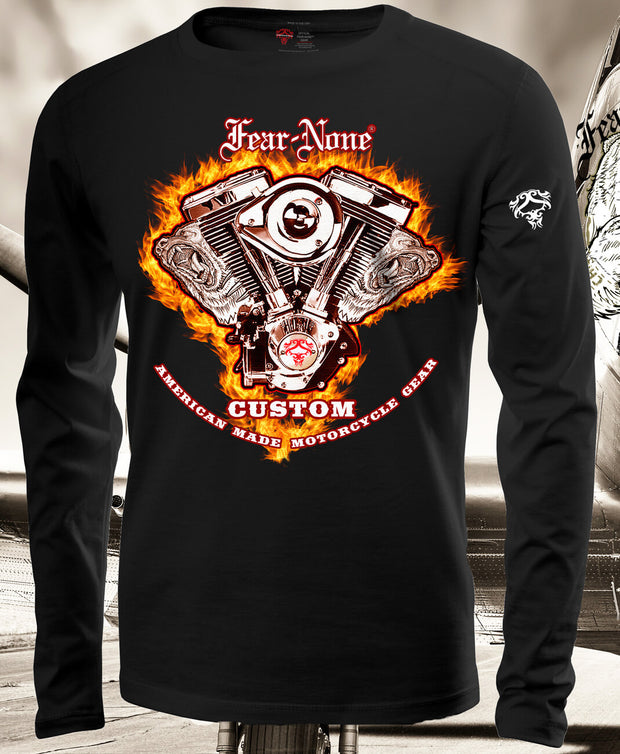 Mens Long Sleeve Fire-ENGINE Rider Shirt (Special Edition)
