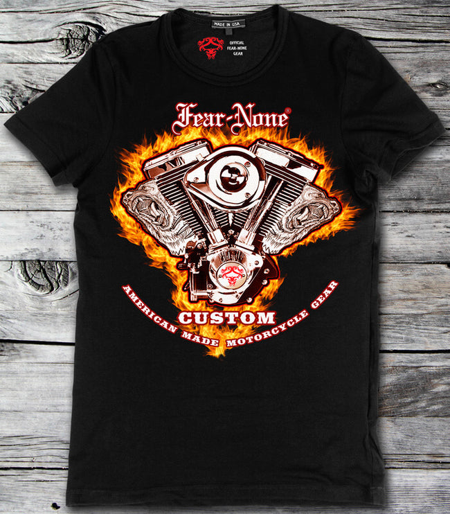 Mens Fire-ENGINE Rider Shirt (Special Edition)