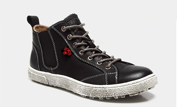 Men's FEAR-NONE Bear Leather Hi-Top Boot