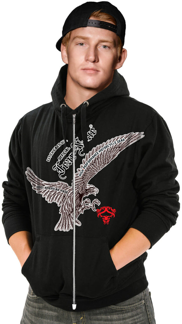 """Screaming Eagle Rider"" Hoodie"