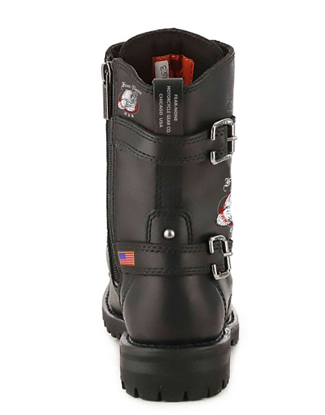 Men's FEAR-NONE Bear Leather Rider Boot
