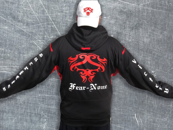 The Original FEAR-NONE All-Weather Hoodie.