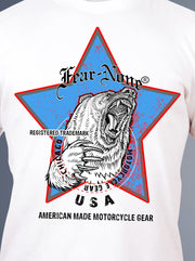 Men's Vintage Blue Highway Star Bear Rider SE