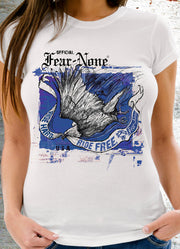 Women's Wild Blue Fire Eagle Rider (Short Sleeve)