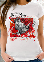 Women's Red Fire Eagle Rider (Short Sleeve)