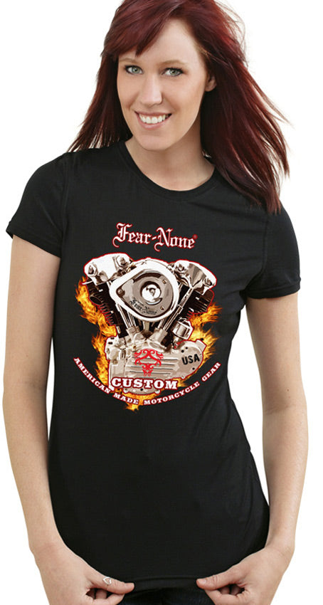 Womens Knucklehead Fire-ENGINE Rider Shirt (SE)