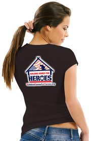 Womens Building Homes for Heroes Skull Rider