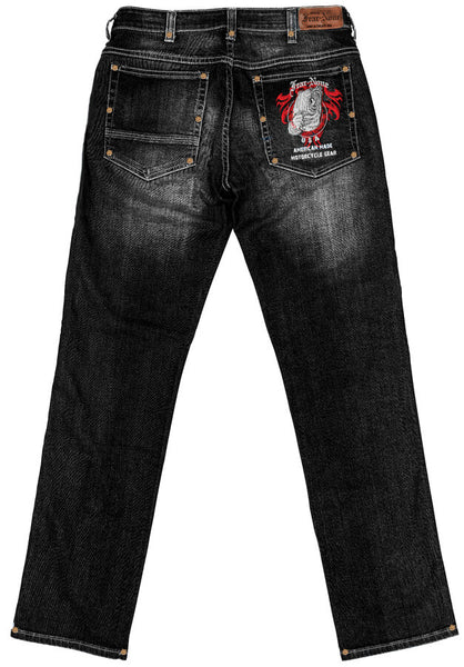 Women's Black BEAR Rider MADE IN USA 20 oz Jeans