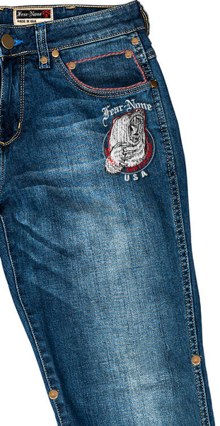 Women's BEAR Rider MADE IN USA 20 oz Jeans