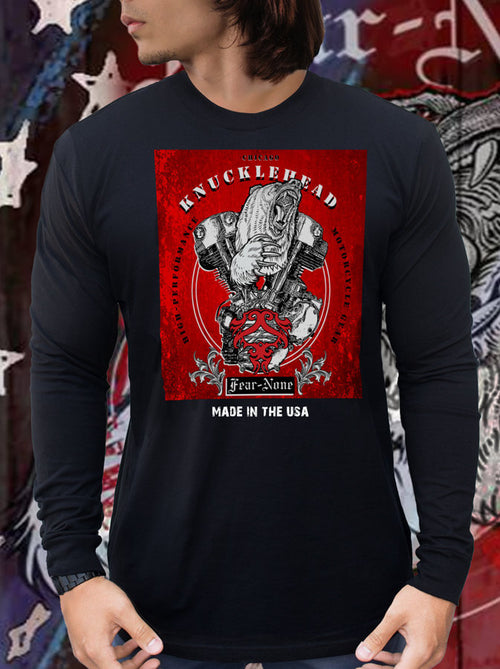 Men's Big Red KNUCKLEHEAD Rider Shirt