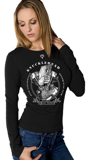Womens DARK KNUCKLEHEAD Rider Shirt SE