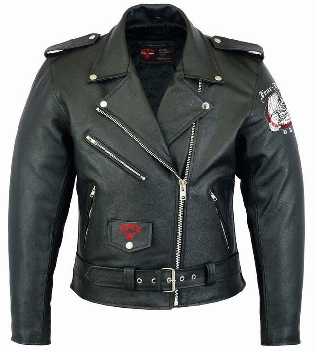 Bear Rider Leather Highway Jacket