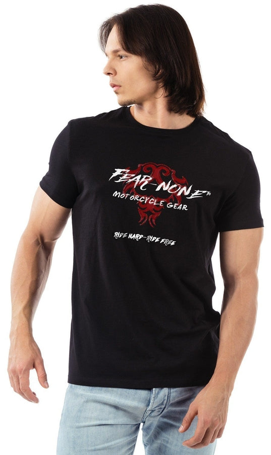 FEAR-NONE Old School Logo Rider Shirt