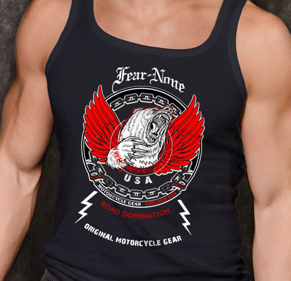 Black Bear Dominator Muscle Shirt