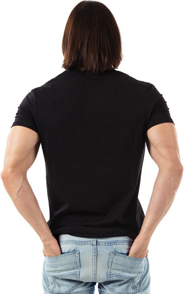 Men's Grasping Eagle Rider Shirt(Black)