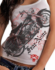 Motor Bike Red Logo Wraparound