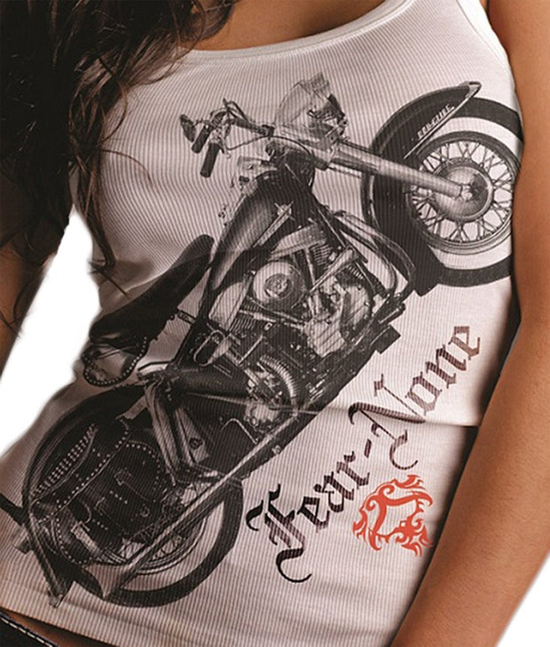 Motor Cycle Small Logo Wraparound TanK(TM)