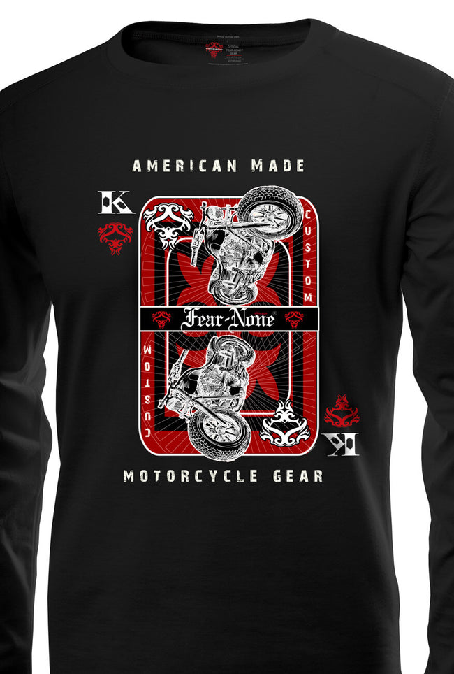 "Men's ""High Card"" Rider Shirt"