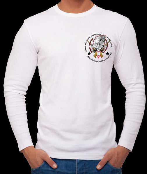 American OUTLAW Bike Rider Shirt (Long Sleeve)