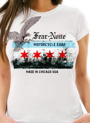 Women's Old Chicago Rider Shirt (white)