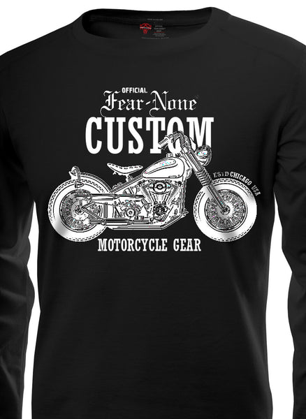 Outlaw Custom Rider-Shield  Shirt
