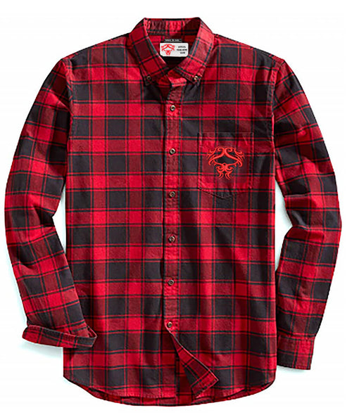 Old School Red Plaid Rider